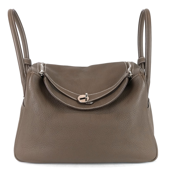 Lindy 34 Clemence Leather Shoulder Bag