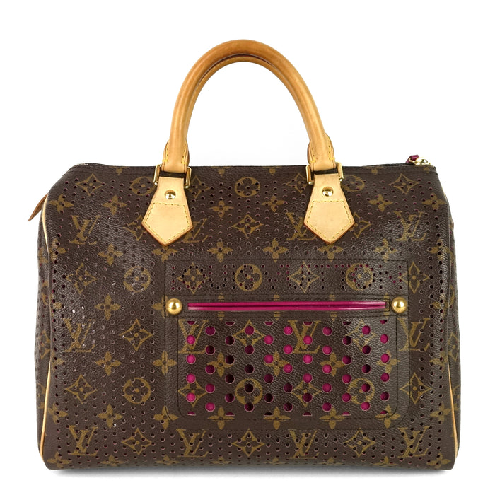 Speedy 30 Perforated Monogram Canvas 2006 Limited Edition Bag