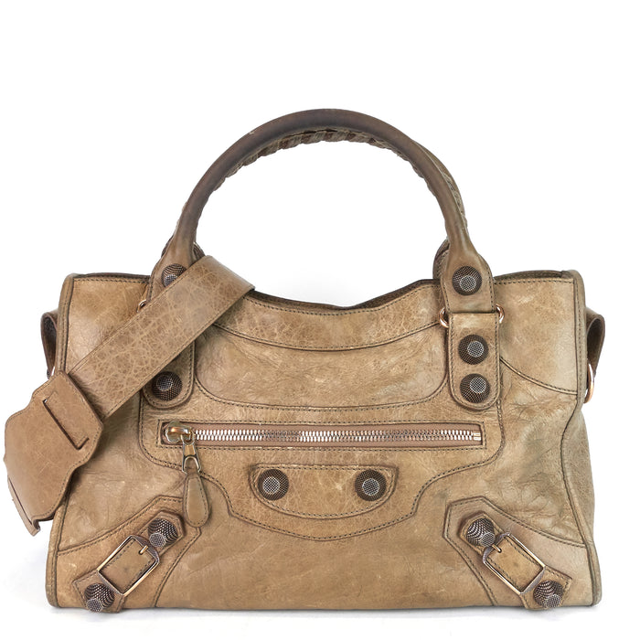 Giant 21 Agneau Leather City Bag