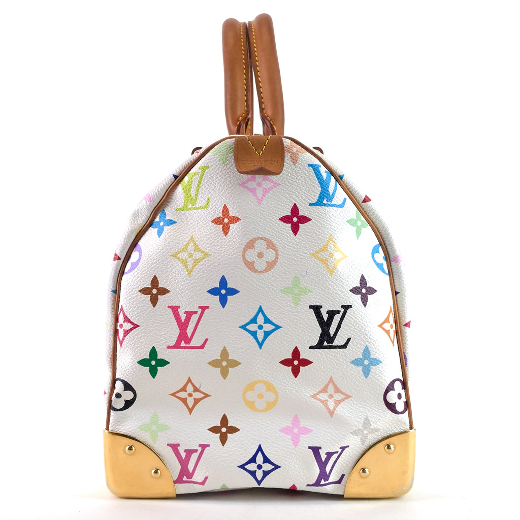 Speedy 30 Monogram Multicolore Canvas Bag