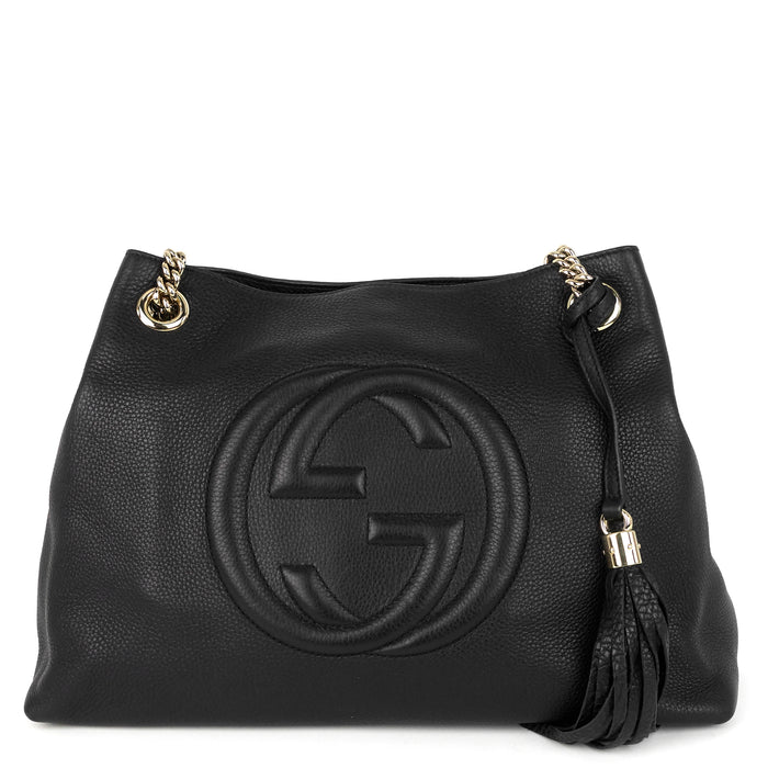 Soho Chain Medium Calf Leather Bag