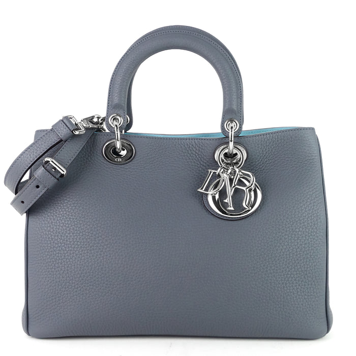 Diorissimo Medium Calf Leather Bag with Pouch