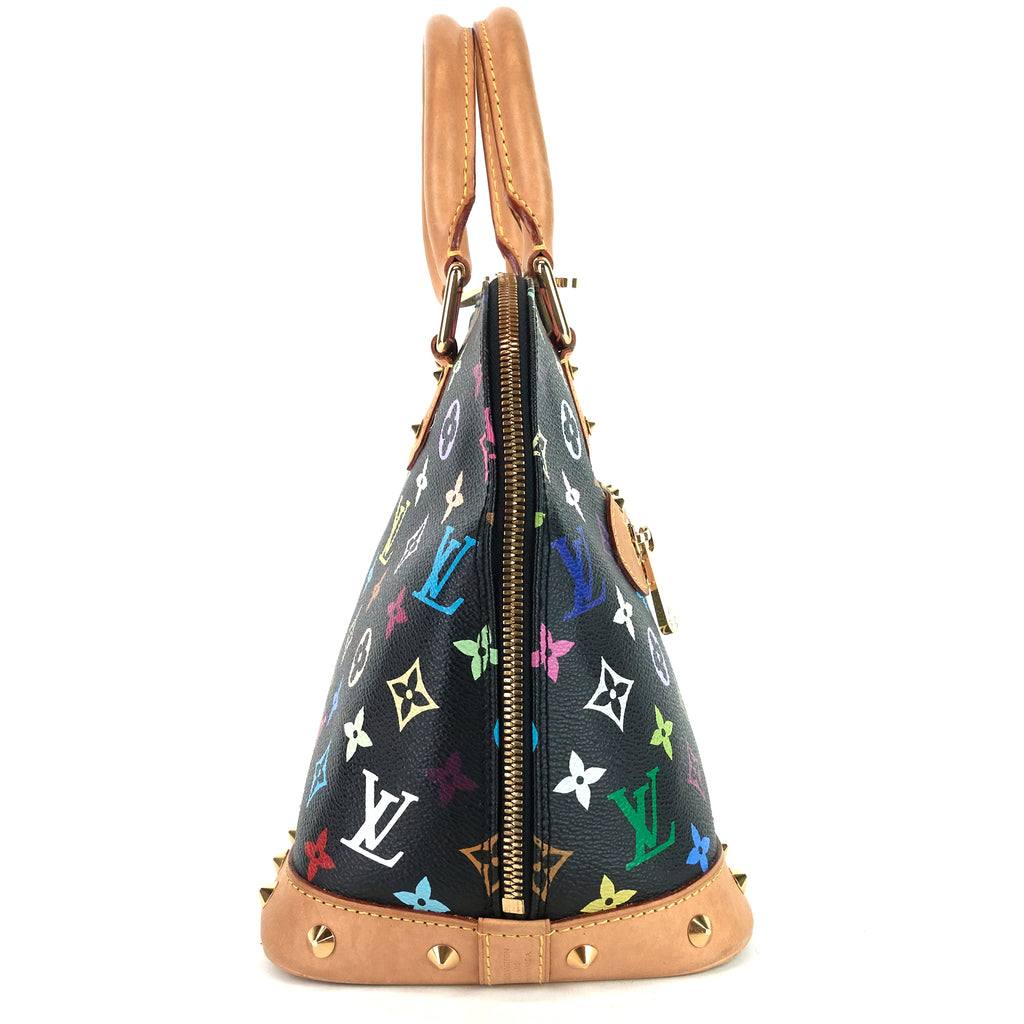 Alma PM Monogram Multicolore Canvas Bag
