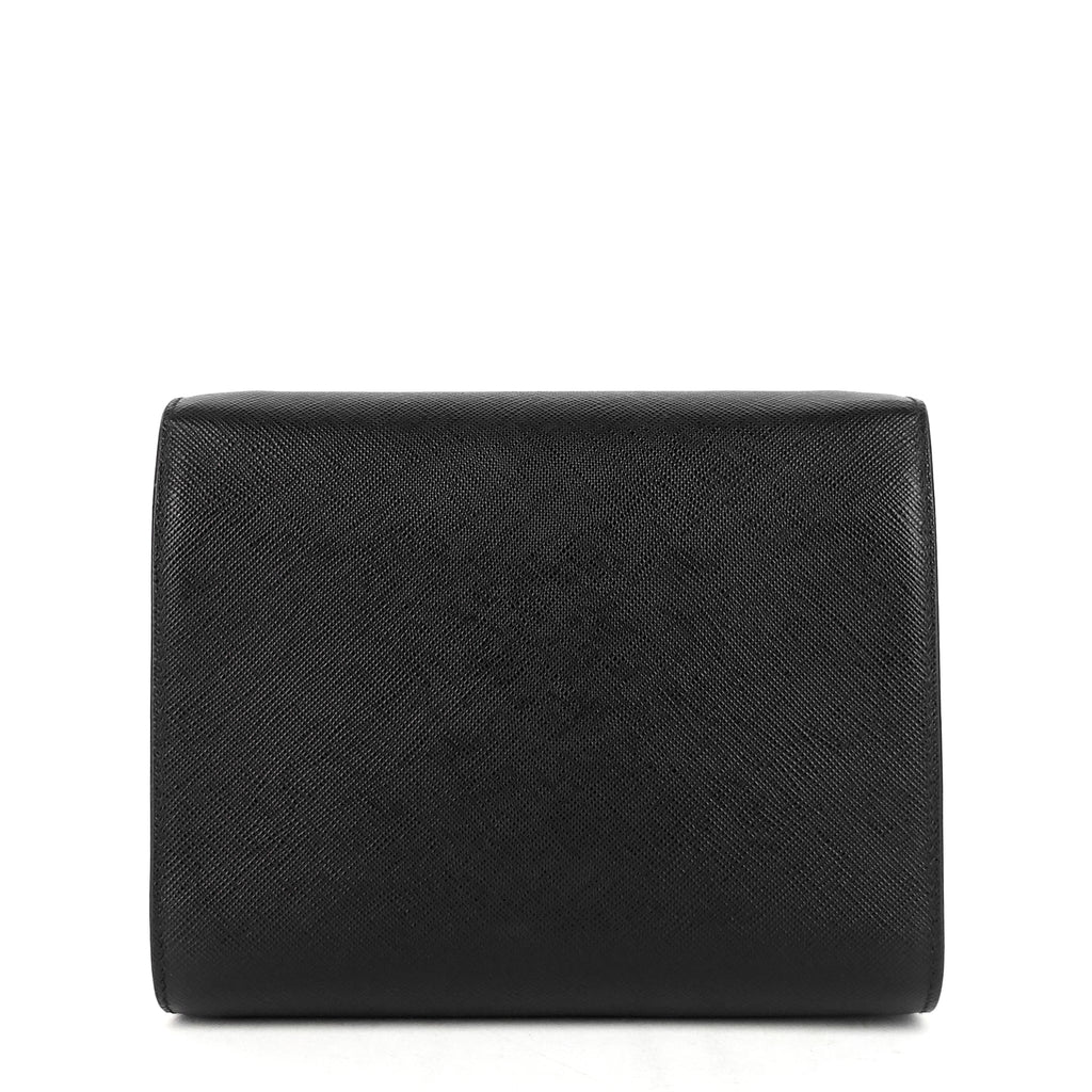 Lux Saffiano Leather Crossbody Bag