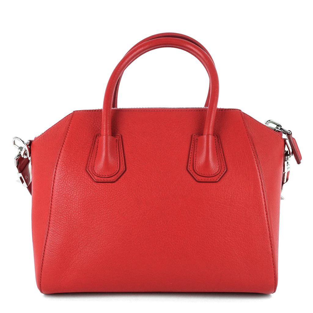 Antigona Small Goat Leather Bag