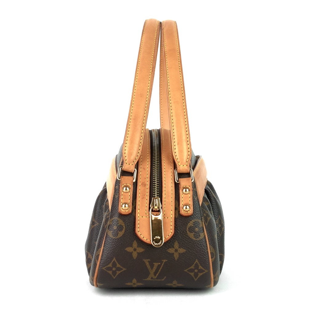 Klara Monogram Canvas Handbag