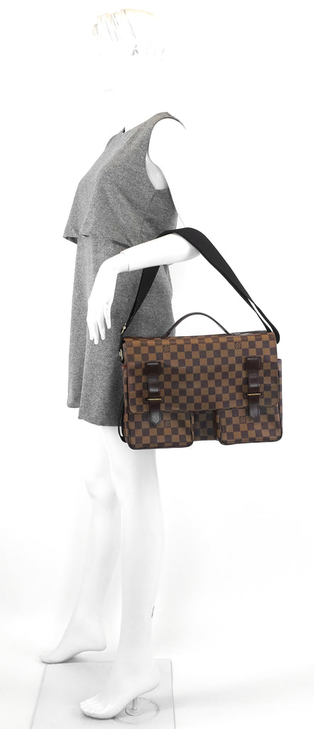 Broadway Damier Canvas Large Messenger Bag