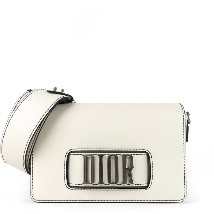 Dio(r)evolution Calf Leather Crossbody Flap Bag