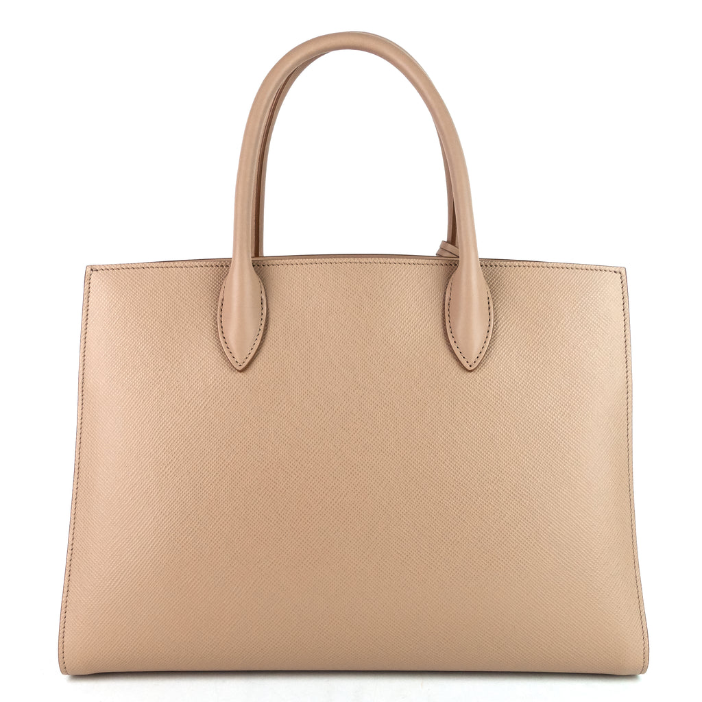 Bibliotheque Large Saffiano Leather Bag