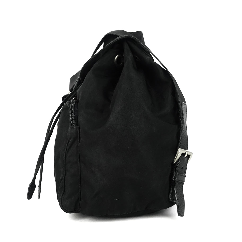 Front Pocket Small Nylon Backpack