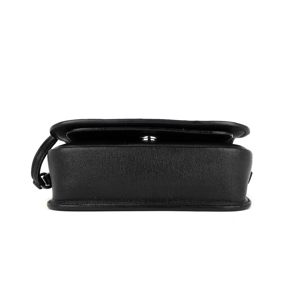 Charlotte Toy Lambskin Leather Messenger Bag