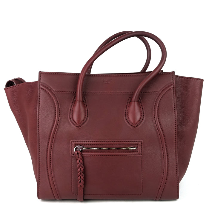 Phantom Medium Grainy Calf Leather Bag