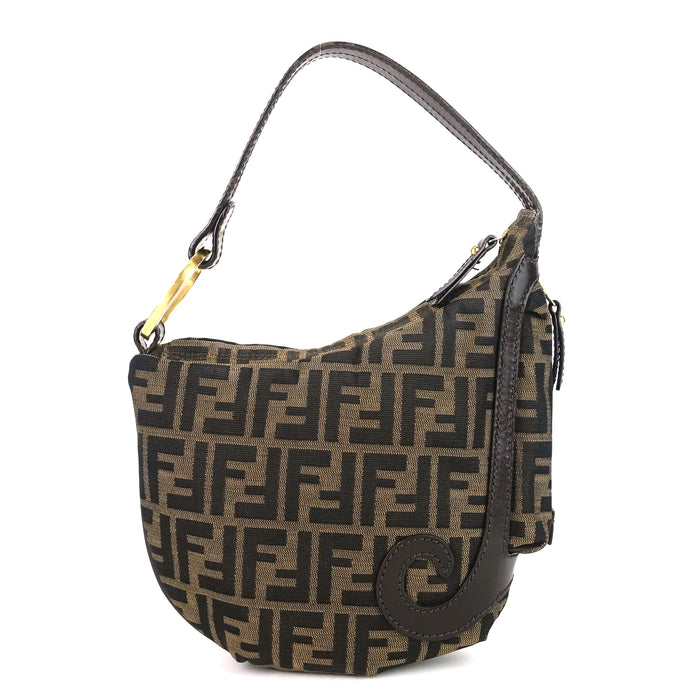 Borsa Biga Media Zucca Canvas Hobo Bag