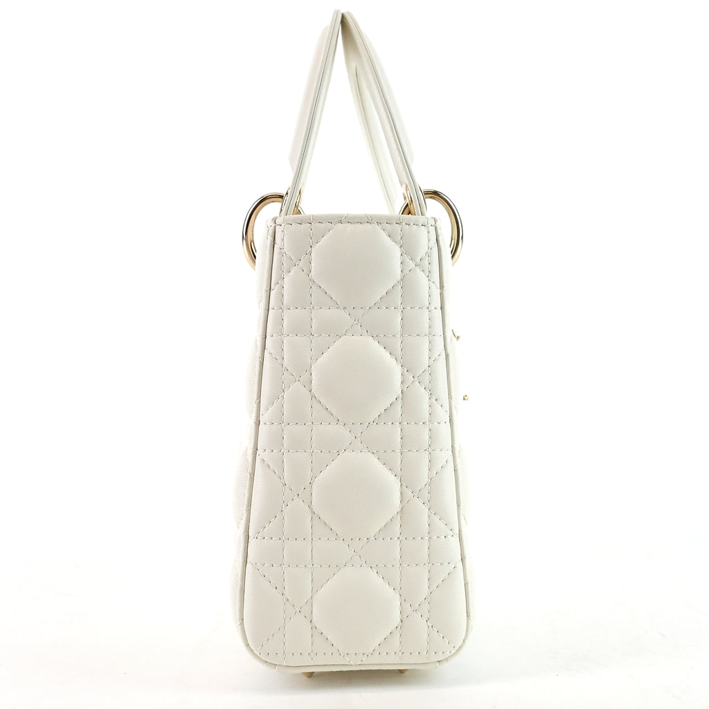 My ABCDior Cannage Lambskin Leather Handbag