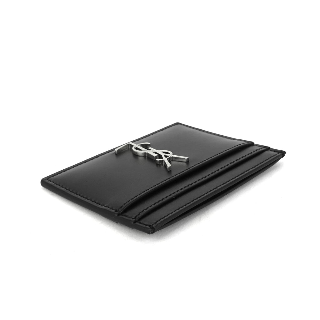 Lambskin Leather Credit Card Holder