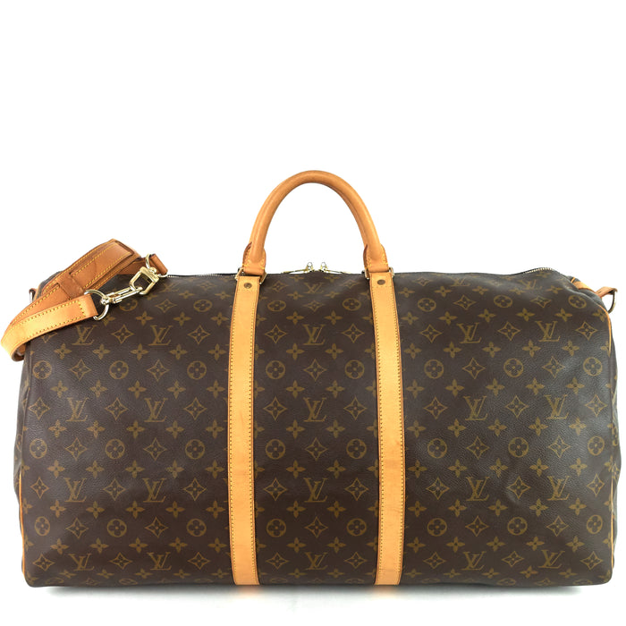 Keepall 60 Bandouliere Monogram Canvas Bag