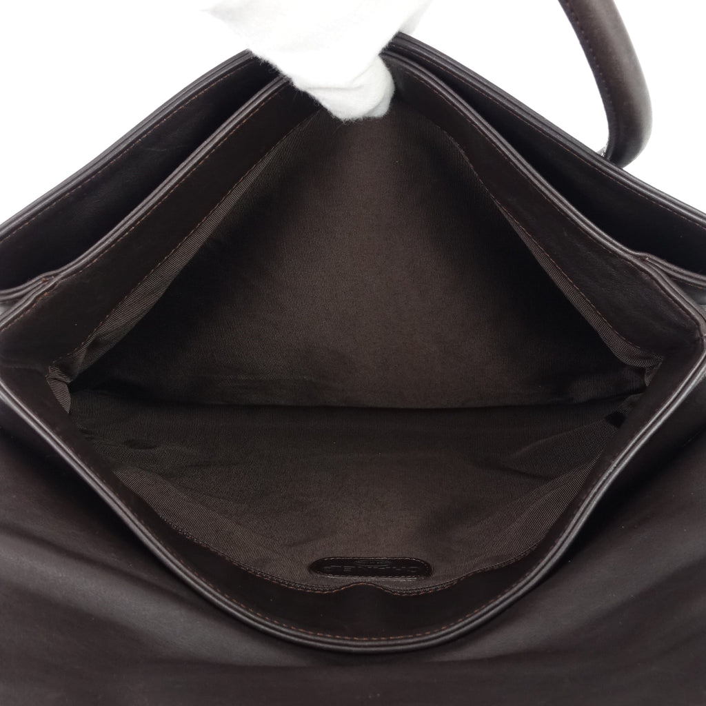 Coco Mark Leather Tote Bag
