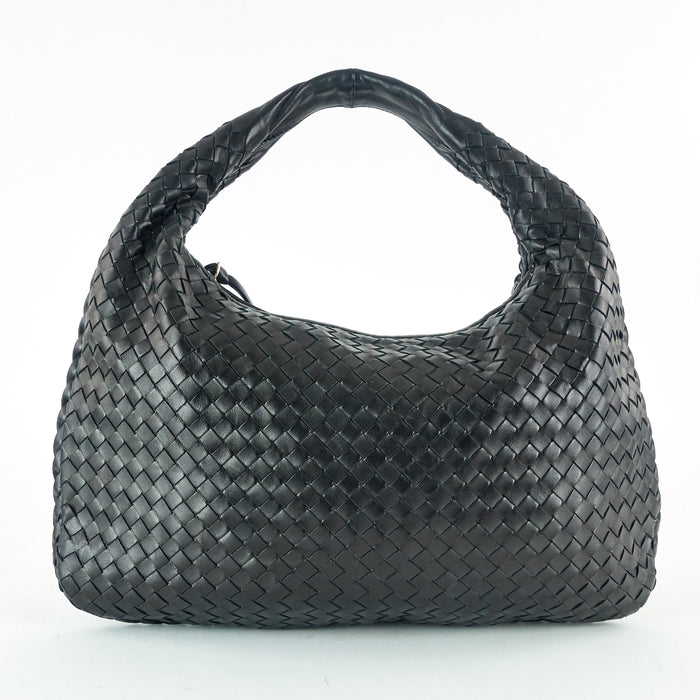Intrecciato Nappa Leather Hobo Bag