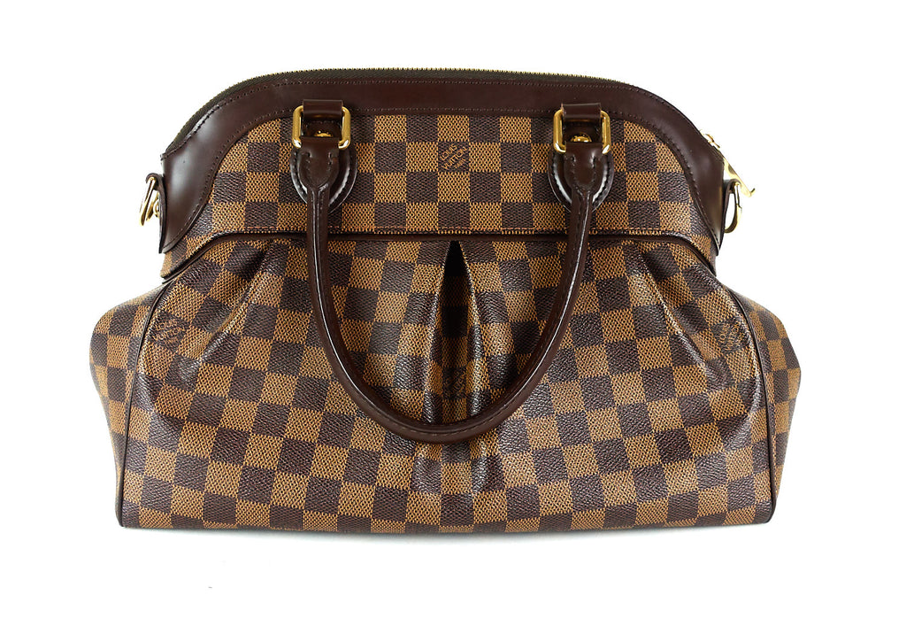 Trevi PM Damier Ebène Canvas Handbag
