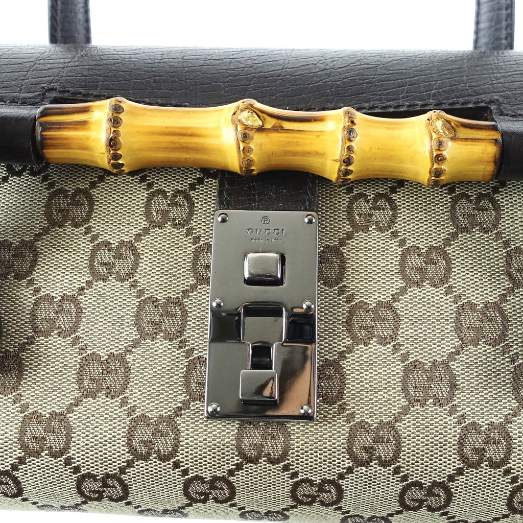 Bullet Monogram Canvas Handbag