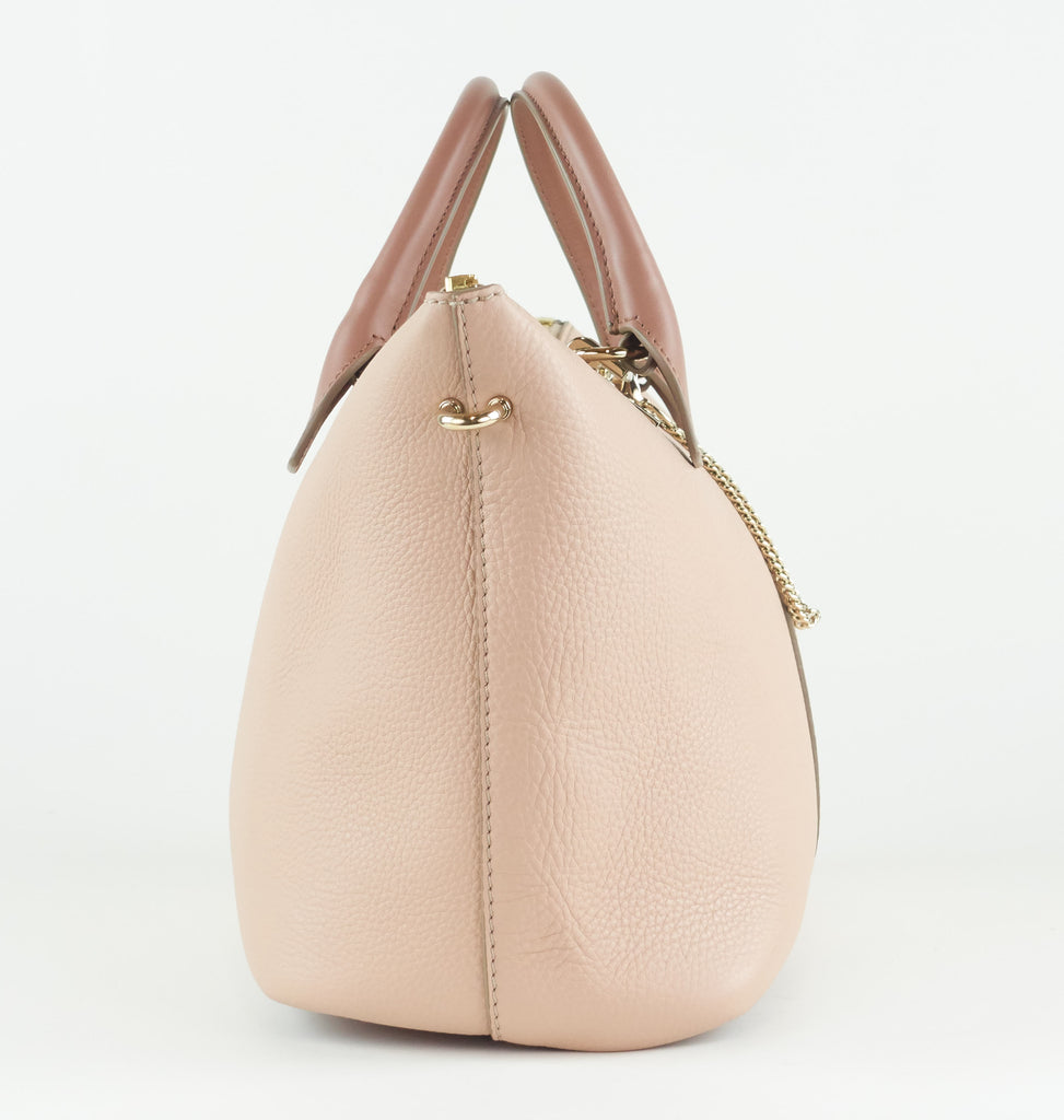 Baylee Leather Two Tone Medium Bag