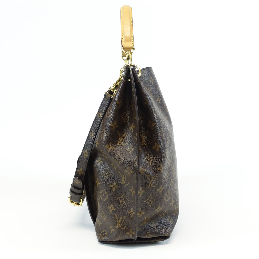 Metis Monogram Canvas Hobo Bag