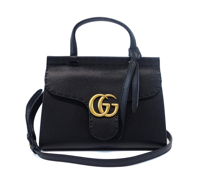 Leather GG Flap Bag
