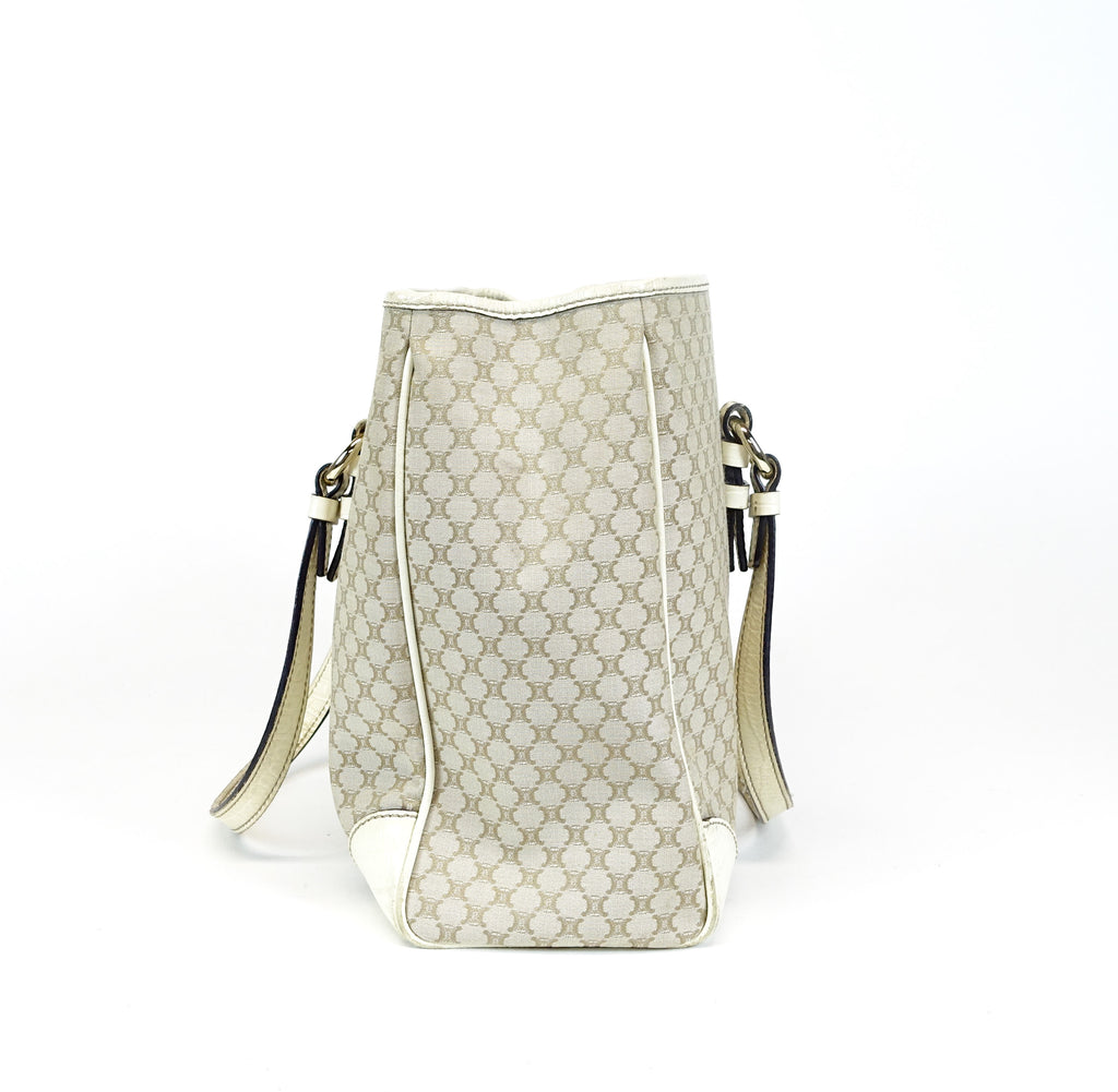 Ivory Canvas Tote Bag
