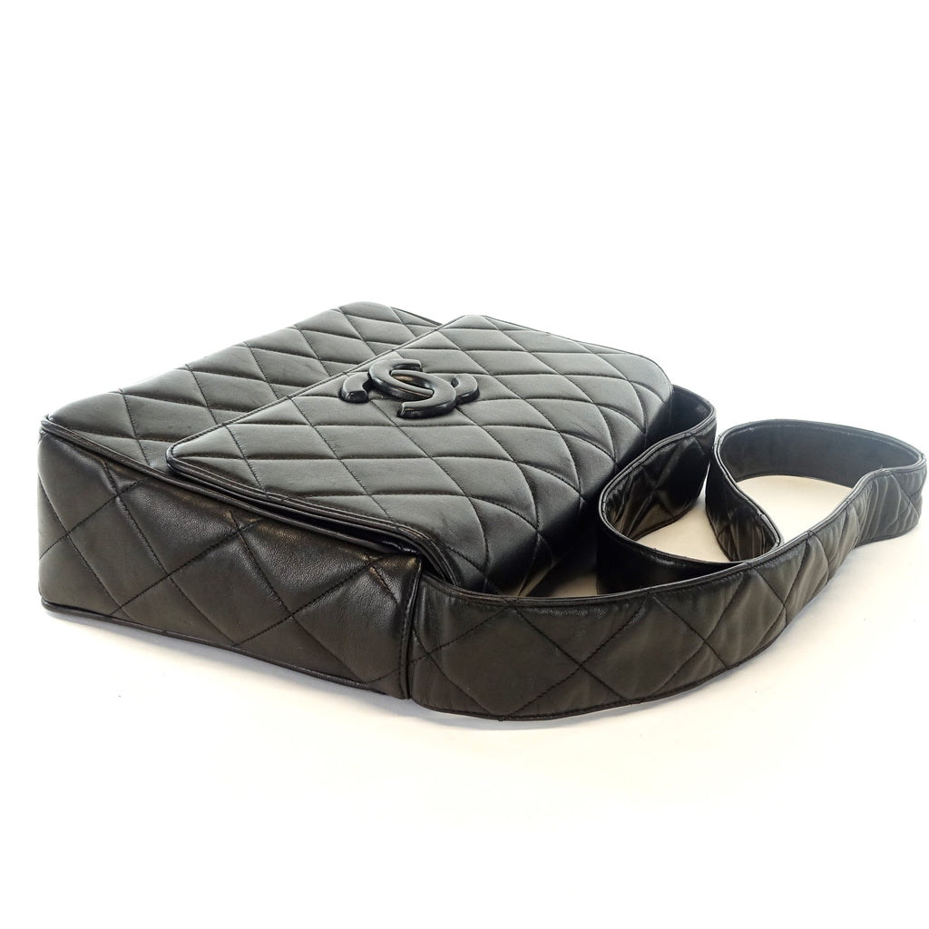 Quilted Lambskin Leather Shoulder Bag