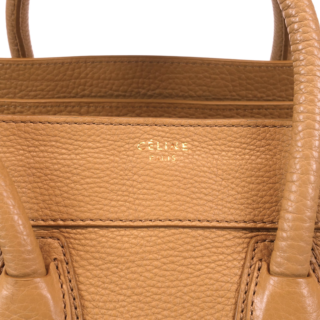 Pebbled Calf Leather Tote Bag