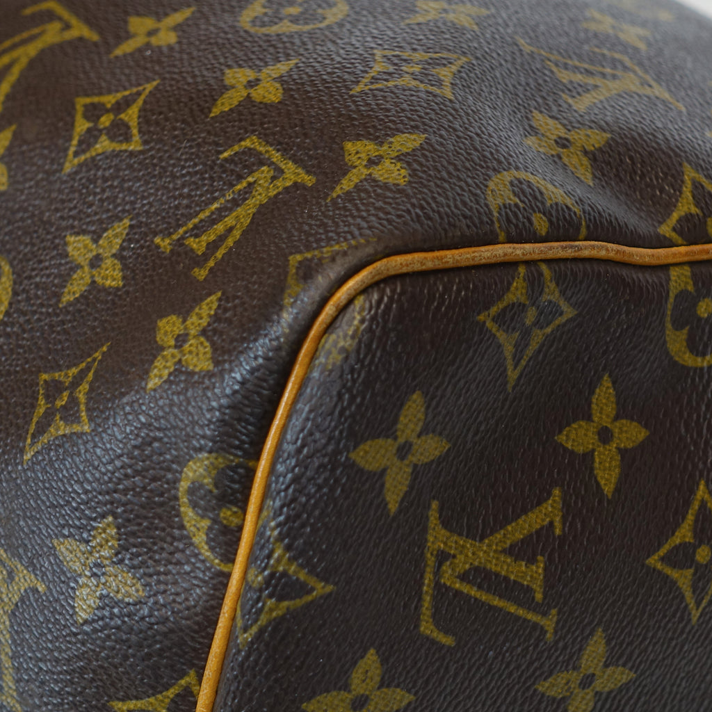 Vintage Keepall 55 Monogram Canvas Travel Bag
