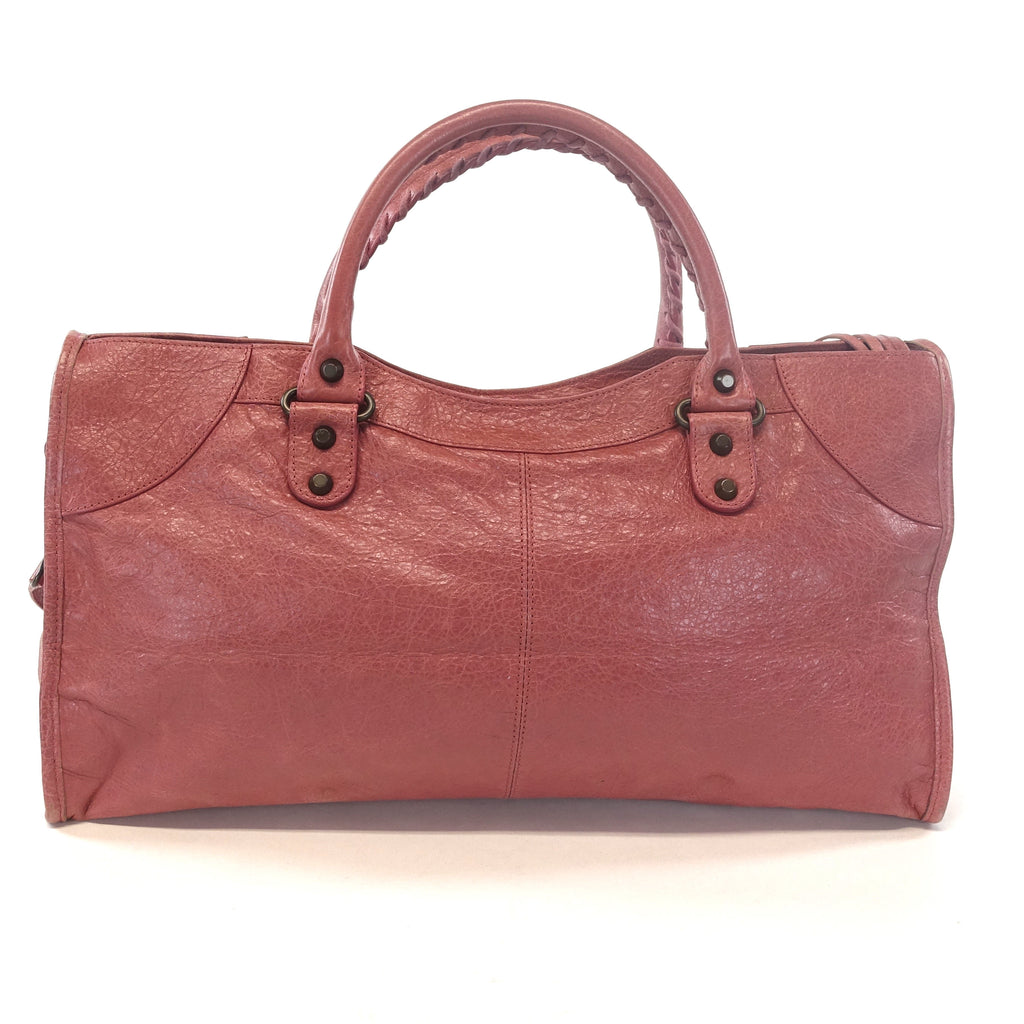 Giant 12 Agneau Leather City Bag