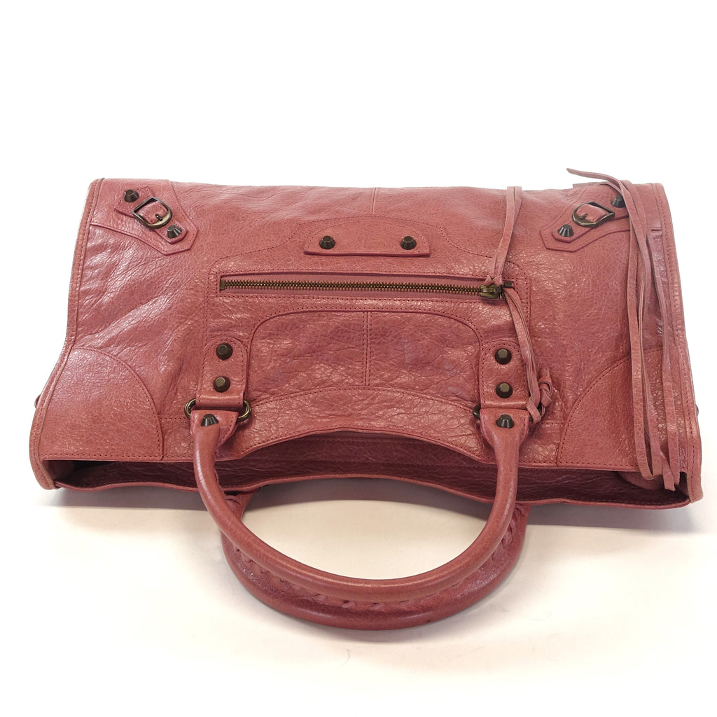 Giant 12 Lambskin Leather City Bag
