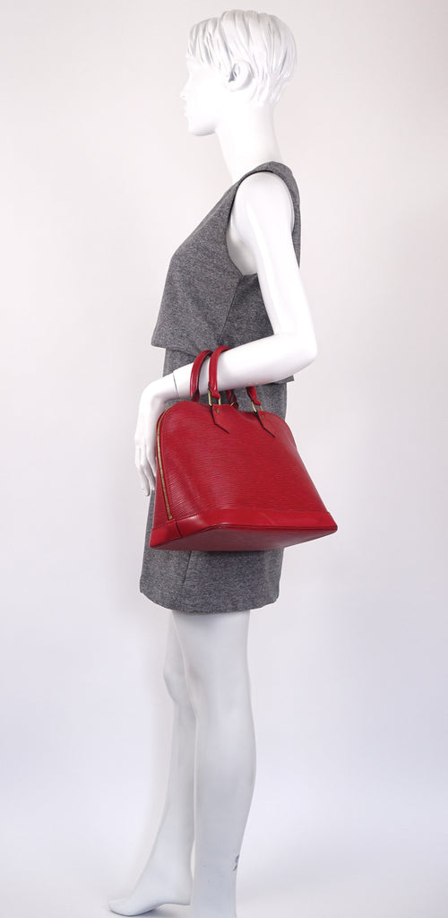 Epi Leather Alma PM Handbag