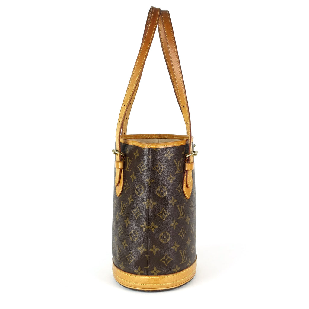 Monogram Canvas Petit Bucket