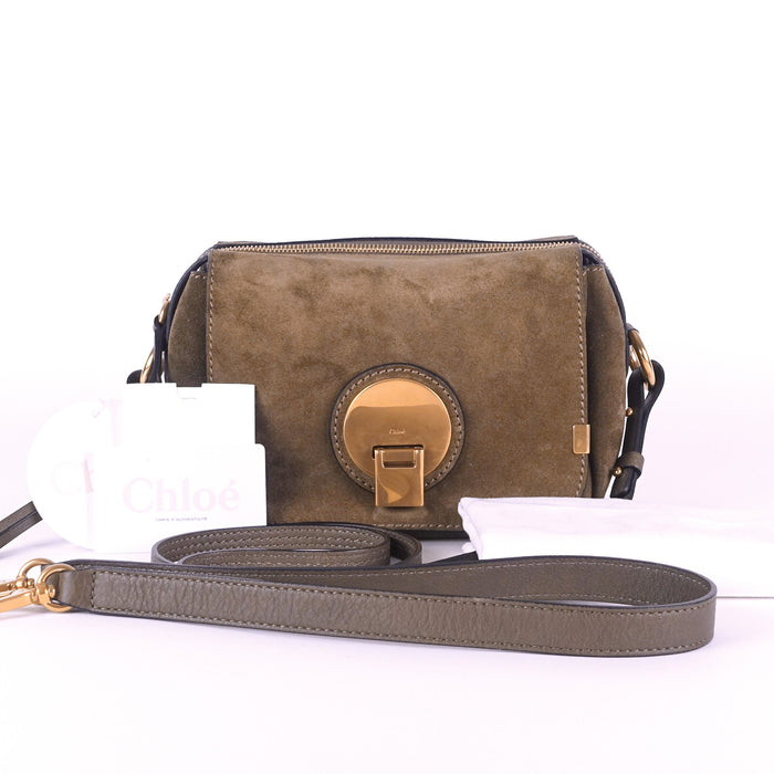 Indy Leather and Suede Camera Bag