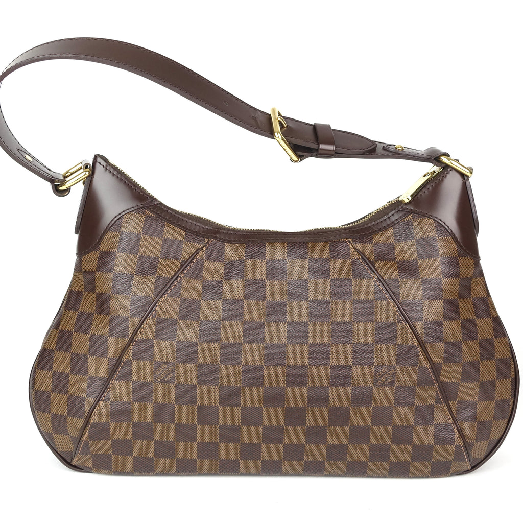 Thames GM Damier Ebene Canvas Shoulder Bag