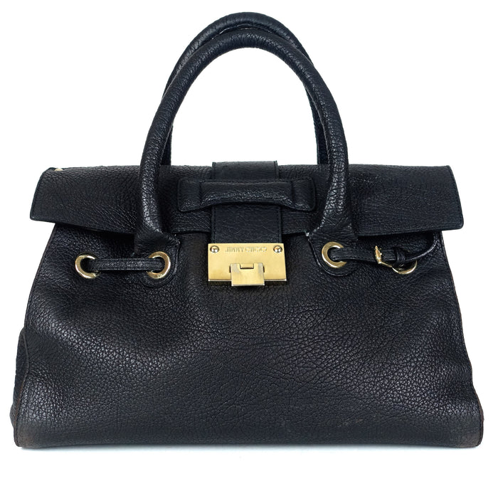 Jimmy Choo Rosalie Pebbled Leather Bag