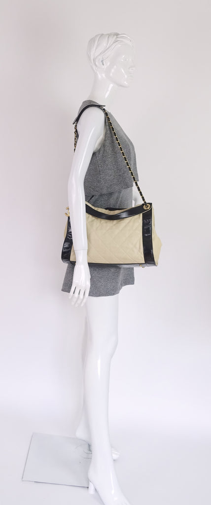 In the Mix Lambskin Leather Tote Bag