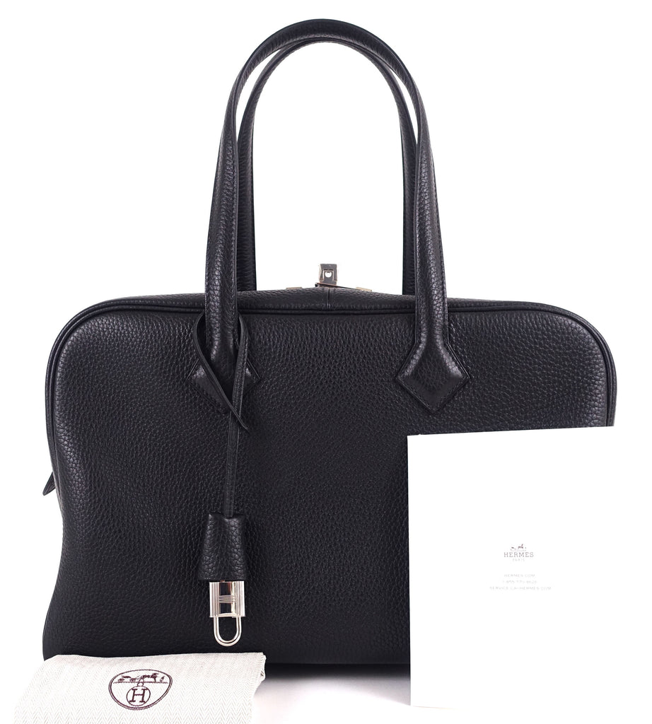 Victoria II 35 Clemence Leather Handbag