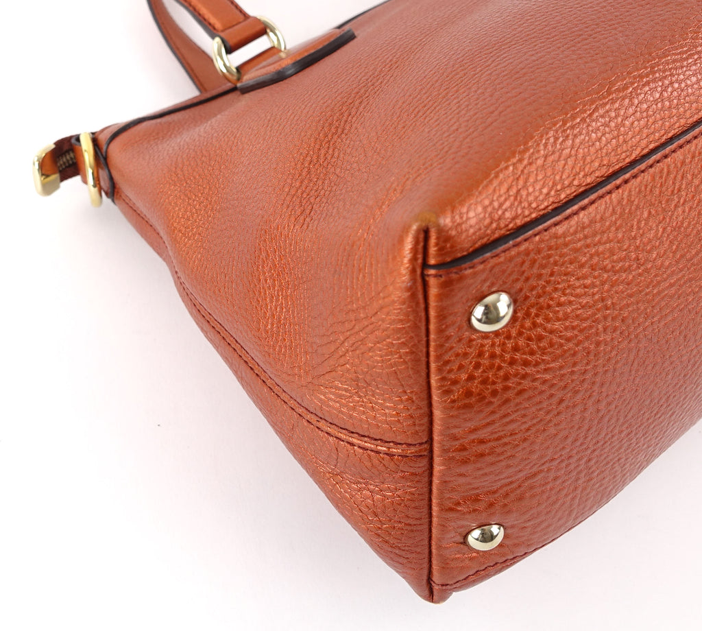 Soho Convertible Top Handle Leather Shoulder Bag