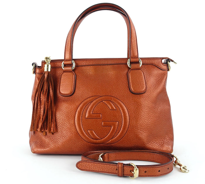 Soho Leather Tassel Shoulder Bag
