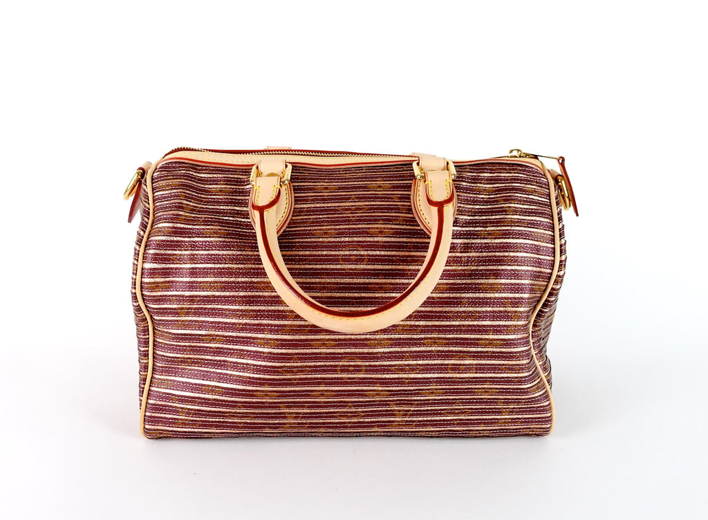 Eden Speedy Bandouliere 30 Canvas Handbag - 2010 Limited Edition