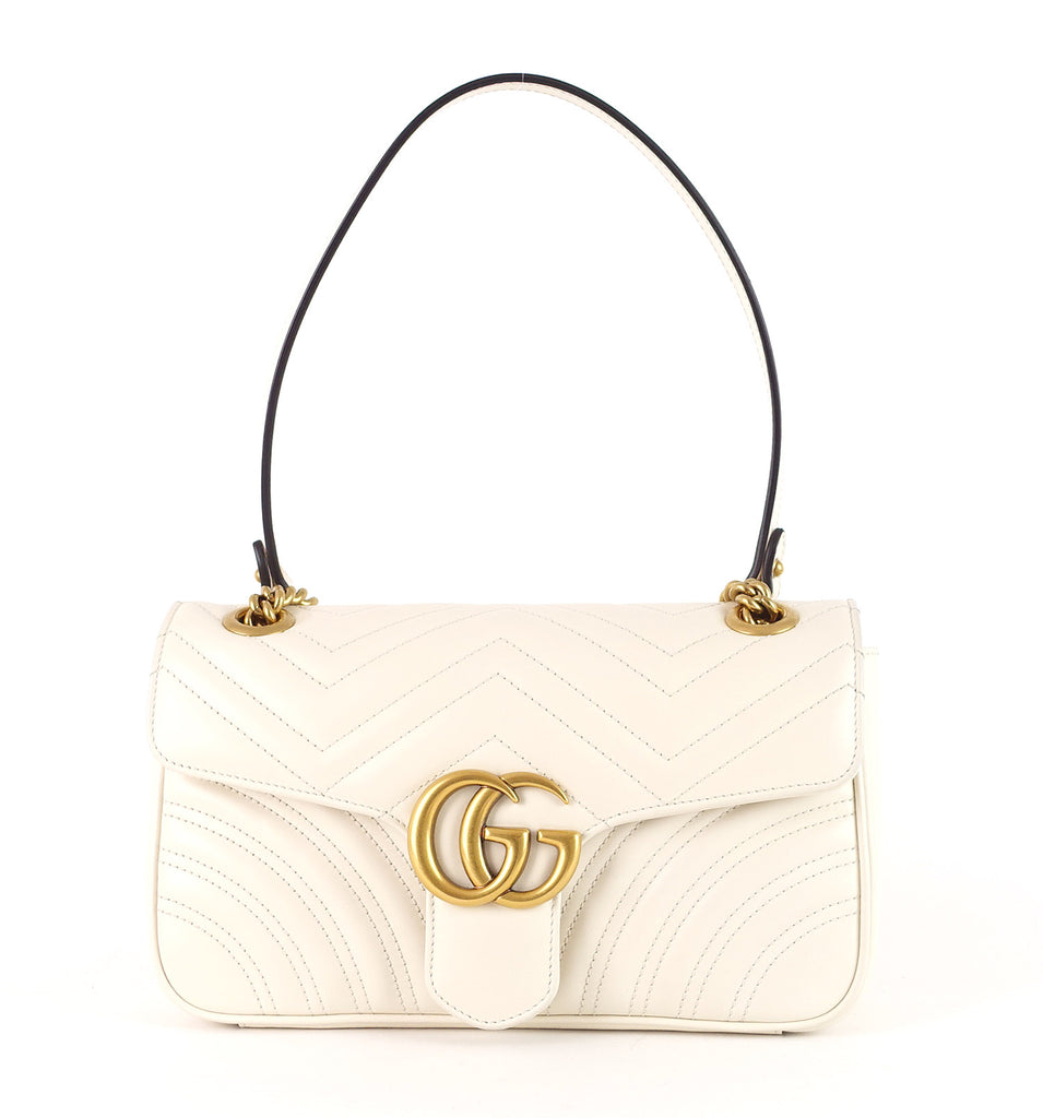 Marmont Matelasse Chevron Leather Small Bag
