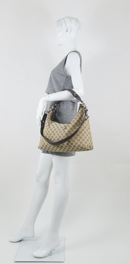 Monogram Canvas Large Hobo Bag