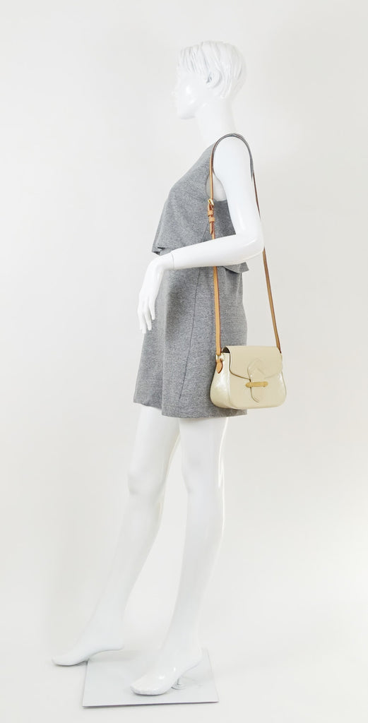 Bellflower GM Monogram Vernis Leather Shoulder Bag