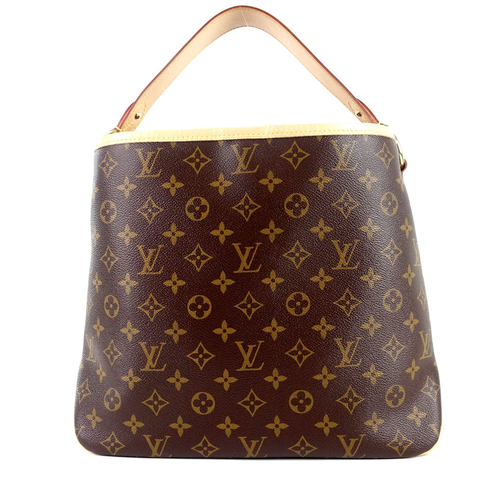 Delightful NM PM Monogram Canvas Tote Bag