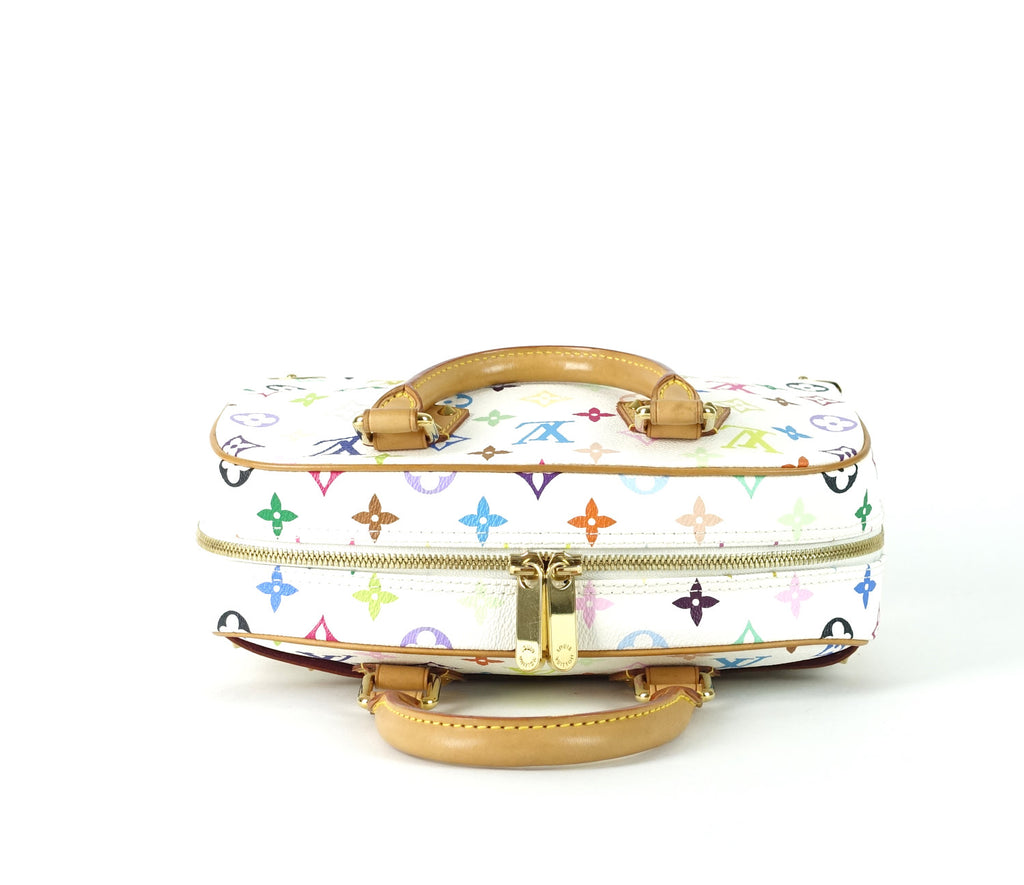Trouville PM Multicolore Monogram Canvas Handbag