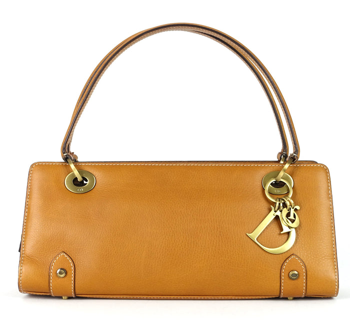 East West Calf Leather Handbag