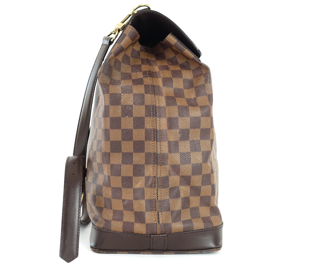 West End GM Damier Ebène Canvas Travel Bag